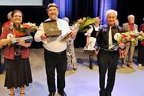 Cenu diváků celkové druhé místo v soutěži SeniorStar vybojoval Vladimír Hejtmanský z Králík (vpravo).