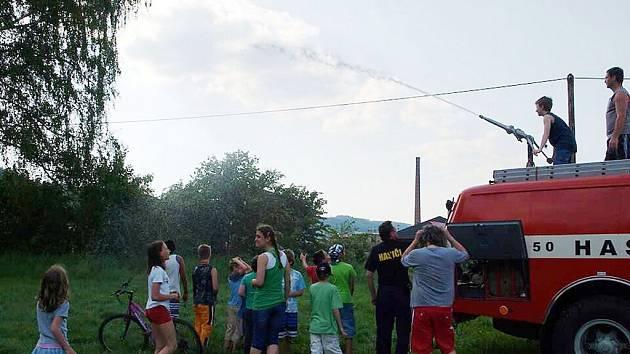 Dětský den volnočasového klubu Kamin.