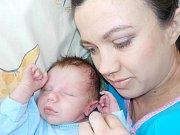 Gleb Telehin je první dítě Iryny a Alexandera z Litomyšle. Narodil se s váhou 3100 g dne 14. 2. v 17.35 hodin.