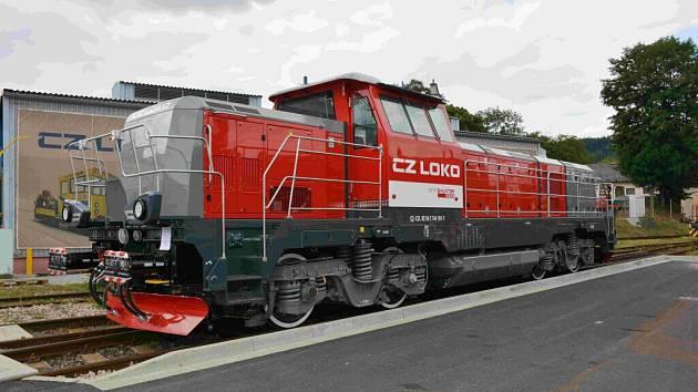 nové české dieselelektrické lokomotivy EffiShunter 1000.