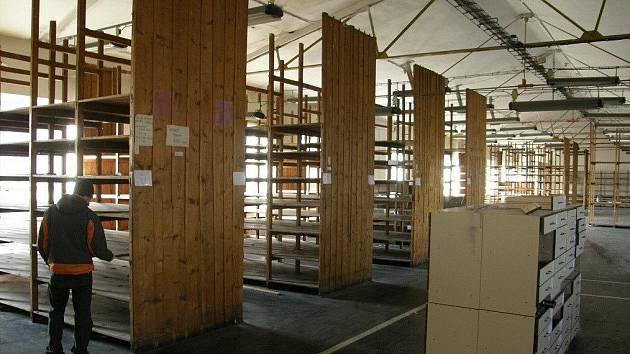 Snímky z opuštěného areálu Perly v Ústí nad Orlicí.