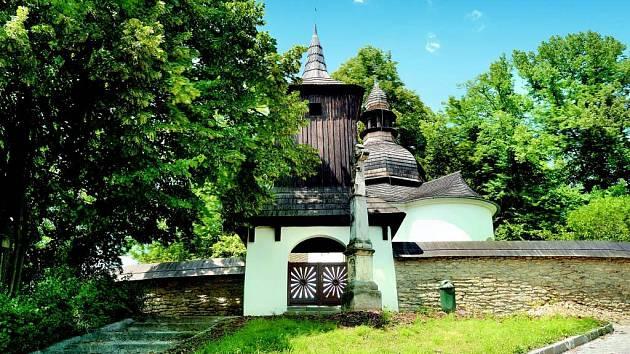 Rotunda svaté Kateřiny v České Třebové.
