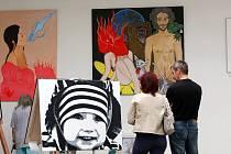 Výstava Meeting Art No. 1 v Ústí nad Orlicí.