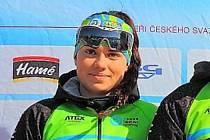 Veronika Gallová se dostala na první příčku v posledním závodě sezony.