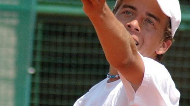 Ani Jakub Lustyk nepomohl svou výhrou českotřebovským tenistům vítězství ve II. lize nad Hrádkem n. N.