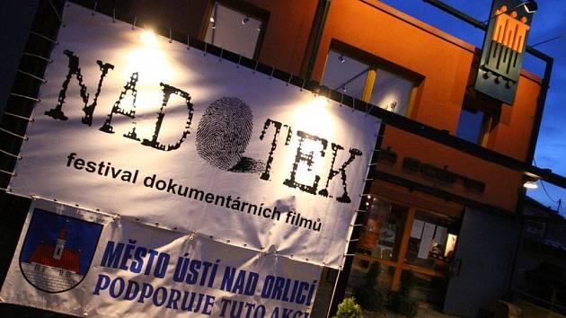 Festival dokumentárních filmů Nadotek 2012.