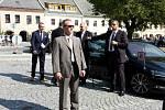 Prezident Miloš Zeman přijel na návštěvu Letohradu.