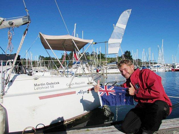 """Martin Doleček si přezdívá """"námořní svéráz"""" a plní si svůj sen: obeplout svět."""