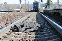 V železniční stanici Ústí nad Orlicí-město vlak usmrtil člověka.