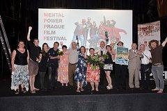 Ze slavnostního galavečera Mental Power Prague Film Festivalu.
