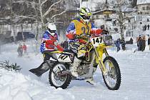 Motoskijöring Studené.