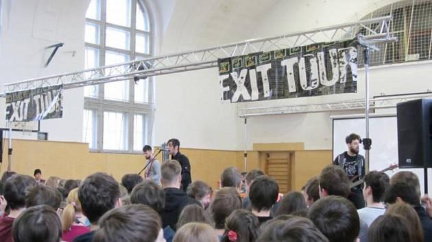 EXIT Tour na ústeckém gymnáziu.