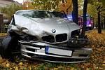 Ve Vysokém Mýtě došlo v pátek k nehodě dvou osobních vozidel.