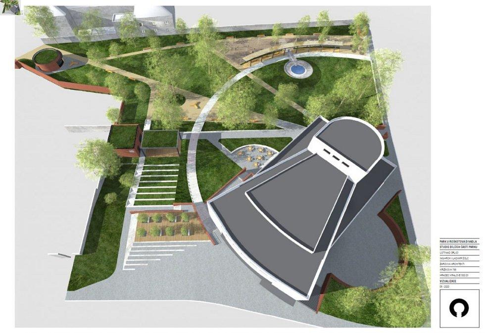 Cílem rekonstrukce je, aby se park stal místem setkávání, relaxace a aby mohl být využíván k pořádání výstav nebo posezení ve stínu vzrostlé zeleně.