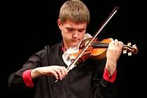 Ze slavnostního vyhlašování 58. ročníku Kocianovy houslové soutěže v Ústí nad Orlicí.