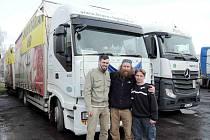 Na Ukrajinu vyjel pátý humanitární konvoj financovaný firmou Isolit Bravo z Jablonného nad Orlicí.