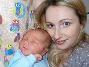 Mikuláš Votřel se narodil dne 26. 1. v 12.45 hodin Lucii a Michalovi z České Třebové. Na svět si přinesl váhu 3580 g.
