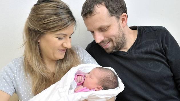 Vanesa Šulová je první dcerou Antoniny a Radima z Rudoltic. Na svět si 5. ledna v 19.04  přinesla 3,224 kg.