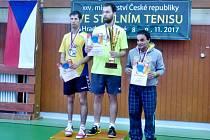 Stolní tenis handicapovaných sportovců: Ústečtí vyhráli čtyřhru a obstarali i finále dvouhry.