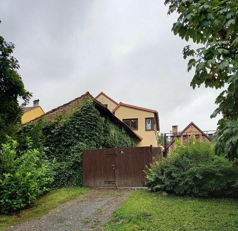 Současné foto domu, kde byl dříve hostinec U krále Ječmínka.