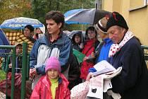 Ferda Mravenec vítal děti.