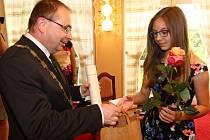 Předávání cen Comenius v Ústí nad Orlicí.