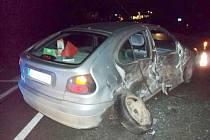 Při nehodě v Šedivci bylo zraněno dítě.