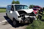 Tragická nehoda mezi obcemi Helvíkovice a Rybná nad Zdobnicí
