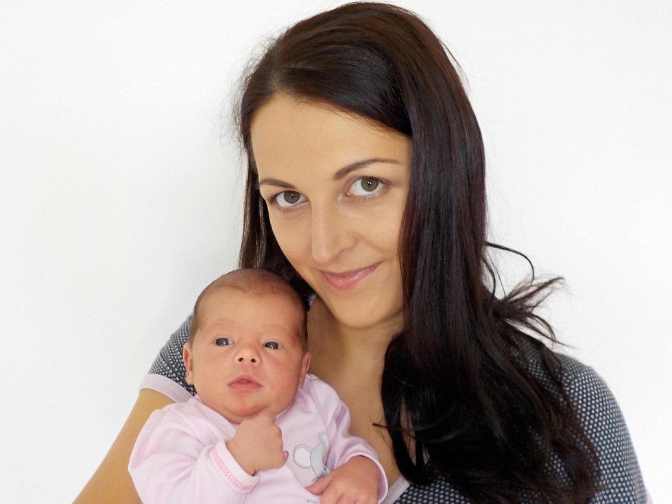 Hedvika Binková je po Beátce druhá holčička Kateřiny a Tomáše z Litomyšle. Přišla na svět s váhou 2820 g 8. 8. v 4.10 hodin.