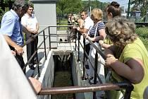 Čistírna odpadních vod v České Třebové byla slavnostně uvedena do zkušebního provozu.