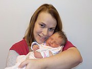Magdaléna Brůnová je prvorozená holčička Radky a Jiřího z Letohradu. Při narození dne 1. 12. v 4.17 hodin vážila 3279 g.