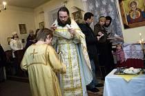 V Lanškrouně věřící slaví tyto dny pravoslavné Vánoce.