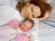 Lucie Rozárie Rabová bude po Richardovi těšit rodiče Lucii a Richarda z Oucmanic. Narodila se 9. 10. v 6.35 hodin a vážila 3650 g.