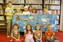 Z prázdninové akce pro děti pořádané ústeckou knihovnou.