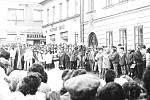 Listopad 1989 v České Třebové.