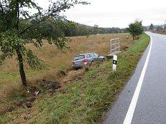 Nehoda v úseku Králíky - Lichkov.
