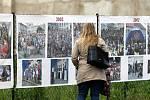Rozsáhlá expozice fotografií z historie konání akce Město v pohybu – Týden dobré pohody.