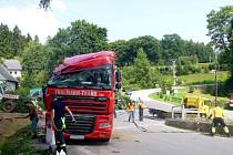 Nehoda v Mladkově.