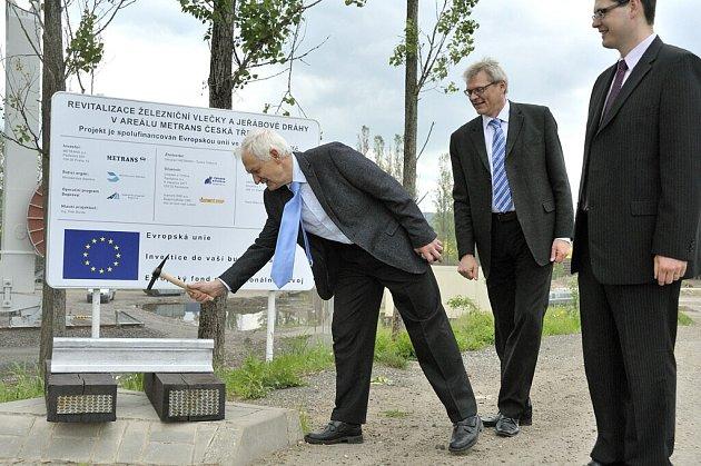 Výstavba kontejnerového překladiště v České Třebové byla zahájena.