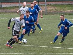 Fotbalová Fortuna divize C: Ústí nad Orlicí - Dvůr Králové nad Labem.