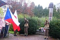 Den válečných veteránů si připomněli v České Třebové.