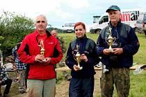 Rybářské závody v Lukavici.