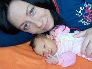Natálie Ondráčková je prvorozená holčička Lucie a Zdeňka z Ostrova. Světlo světa spatřila 30. 9. v 4.07 hodin a při narození vážila 2670 g.