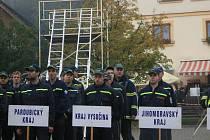 Soutěž v TFA dobrovolných hasičů vyhrálo družstvo Pardubického kraje.