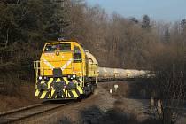 Lokomotiva 744.704 českotřebovské společnosti CZ Loko.
