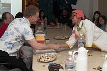 Zdravotní klaun Gary Edwards a jeho poslední seminář v Orlickoústecké nemocnici.