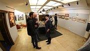 Výstava v předsálí ústecké restauraci Popráč.