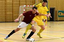 Futsalové utkání mezi Spartou Praha a Nejzbachem Vysoké Mýto.