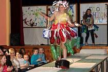 Eco Fashion Show školy v Klášterci nad Orlicí.