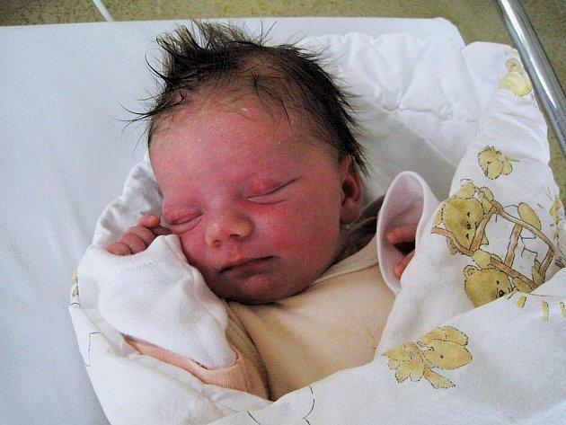 Lucinka - první miminko z babyboxu v Ústí nad Orlicí.